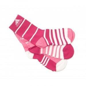 Calcetines de deporte Adidas Stripy Ankle 3P Pack-3