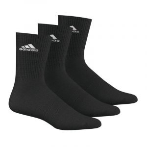 Calcetines de deporte Adidas Performance Pack-3 Negro