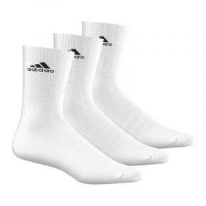 Calcetines de deporte Adidas 3S PER CR HC 3P 2297 Blanco
