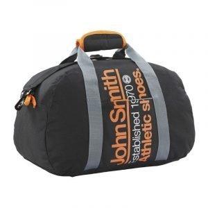 Bolsa de deporte pequeña John Smith Established Negro/naranja