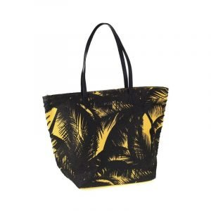 Bolsa de playa Kbas Salerno Amarillo/Negro