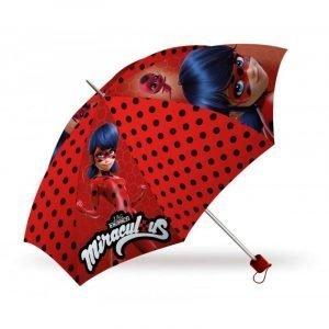 Paraguas plegable infantil Lady Bug Rojo