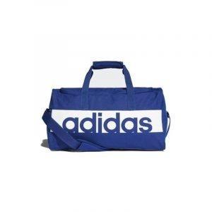 Bolsa de deporte Adidas Lin Per Tb S 51 Azul eléctrico/Blanco