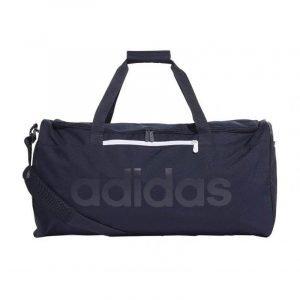 Bolsa de deporte Adidas Lin Core Duf M Azul marino