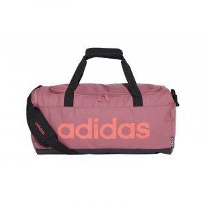 Bolsa de deporte Adidas Lin Duffle S Rosa palo
