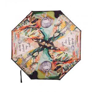 Paraguas plegable automático Anekke JUNGLE Multicolor