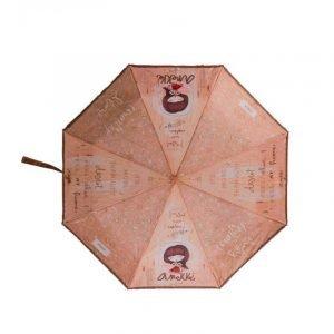 Paraguas plegable automático Anekke ARIZONA Tierra