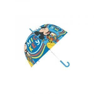 Paraguas infantil MICKEY MOUSE PVC Azul
