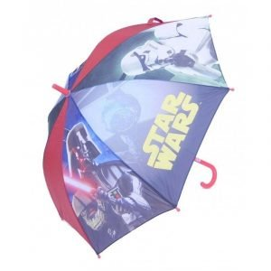 Paraguas infantil Stars Wars 864 Azul/Rojo