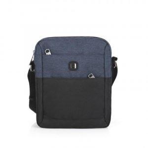 Bolso de hombre Gabol NILO 12 Negro/Azul