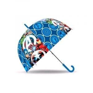 Paraguas infantil AVENGERS pvc 17 Azul